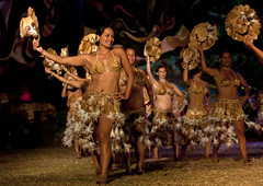 Traditional Dances During Tapati Festival In Hanga Roa, Easter Island, Chile (Eric Lafforgue) Tags: chile color colour latinamerica southamerica horizontal dance chili pacific feather dancer danse tribal worldheritagesite celebration pacificocean sensuality performer easterisland karikari ethnicity traditionalculture colorphoto rapanui isladepascua hangaroa southpacificocean traditionaldancing traditionalfestival 3845  exoticism largegroupofpeople  tapatifestival ili  polynesianisland   ile    southeasternpacificocean polynesiantriangle chileanpolynesia