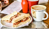 Breakfast (Photography By Robert Young) Tags: red detail breakfast bacon nikon sausage latte d800