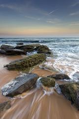 Moment (Gemma Stiles) Tags: ocean sea seascape beach nature water canon landscape coast rocks shoreline australia shore newsouthwales canonef1740mmf4lusm australiancoast leefilters australiancoastline turimettabeach seascapephotography warriewoodbeach canoneos5dmarkiii