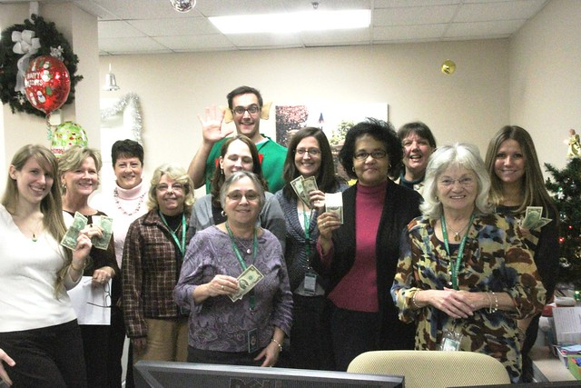 The Student Payment and Registrar's offices sang their version of the 12 Days of Christmas.