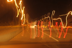 Photo of traffic motion