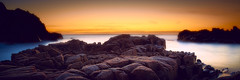 Untitled (MagnusL3D) Tags: ocean sunset sea sky tourism nature water rock stone zeiss golden nikon view sweden outdoor horizon mystical nordic sverige magical havet hav kullaberg cs6 captureone leefilters distagont2821 nordicnature bigstopper topazinfocus d800e