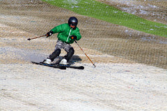 Day 322 - Downhill skier (Ben936) Tags: boy turn skiing downhill skis rossendale artificialslope