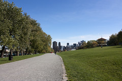 Leaving the Parc du Mont-Royal (rfzappala) Tags: park autumn canada fall quebec montreal royal du mount montroyal parc 2012
