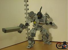LT-3 (CAT WORKER) Tags: castle lego kingdom mech moc