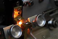 Pulling Needles (Rick Sause Photography) Tags: glass pull fire photography science needle micro heat needles pulling microinjection microinjections