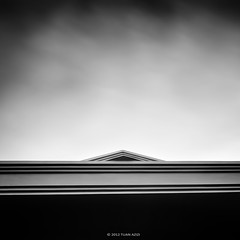 """The Cloud On Top"" (tuan azizi) Tags: longexposure roof sky blackandwhite cloud triangle top tokina1224 lee shape bigstopper flickrsfinestimages1 fotoproc5i tuanaziziphotography"