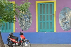 closed windows (Hayashina) Tags: window southamerica argentina buenosaires motorbike colourful hww