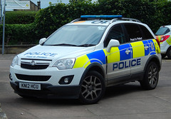 KN12HCU (Cobalt271) Tags: kn12hcu northumbria police vauxhall antara 22 cdti 4x4 rural response vehicle proud to protect livery