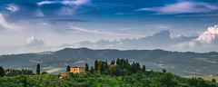 This is Tuscany! (Luis Sousa Lobo) Tags: sky italy clouds canon landscape view wide hills tuscany toscana itlia colinas 2470 70d