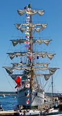 Brest 2016 - Cuauhtemoc (fblanc35) Tags: bretagne bateaux cuauhtemoc brest2016