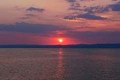 on a ship (sunsetsra) Tags: balaton balatonboglar balatonboglr lake hungary sky skyscape nature water waterscape sun clouds cloud sunset twilight sundown