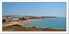 Playa de Albufeira-Portugal (Lourdes S.C.) Tags: playa costaatlntica paisaje albufeira portugal