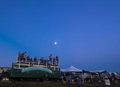 """Moonset at Fest"" (Melissa June Daniels) Tags: philadelphiafolkfestival music art light lightpainting melissajdaniels melissajunedaniels melissajdanielsphotography thenymphandthebee longexposure lowlight moonrise moon"