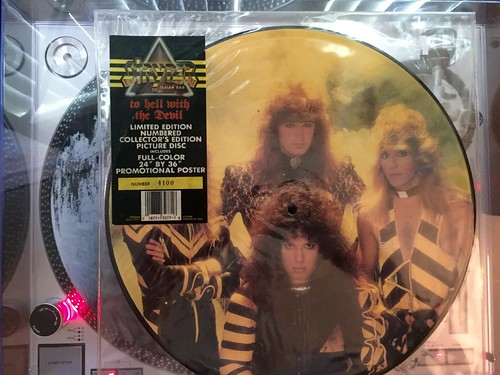 Stryper ~ Too hell with the devil (picture disc)