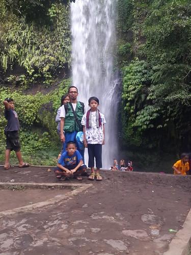 Sendang Gile-waterfall