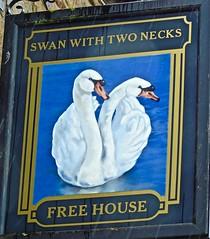 Swan With Two Necks - Pendleton, Lancashire. (garstonian11) Tags: pubs realale lancashire pendleton gbg2016 gbg2017 camra pubsigns
