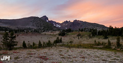 Sunny Evenings (awdftw!) Tags: broken top summer sunset colors warmth clouds sun mountains peaks jaren morris photography landscapes cascades three sisters wilderness travel hiking backpacking wide angle