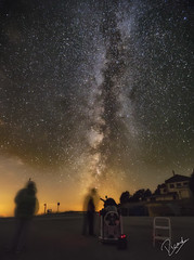 Scanning the Milky Way (Ricard Snchez Gadea) Tags: castellardelriu catalua espaa es milkyway vialactea galaxia galaxy noche nit night estrelles estrellas stars telescopio canon catalunya canonistas catalonia 6d 6dcanon 6deos eos6d canon6d canoneos6d 1635 canon1635 canonef1635mmf28liiusm rasosdepeguera largaexposicion longexposition llargaexposicio cielo sky nocturna