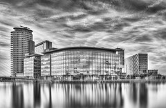The BBC (Ian S Armstrong) Tags: uk manchester salford urban architecture longexposure hdr tonemap photomatix england