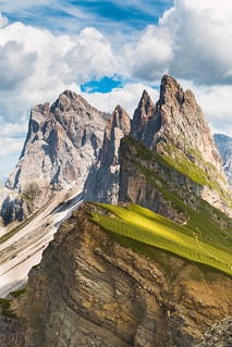 Amazing Dolomites mountains