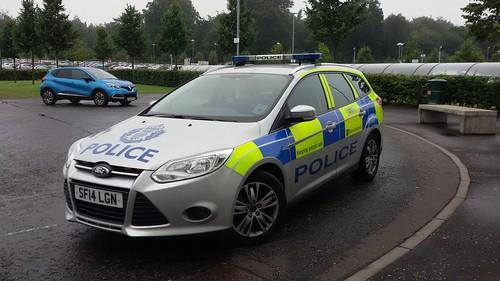 SF14 LGN FORD FOCUS TDCI POLICE SCOTLAND