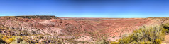 The Painted Desert (kyle.tucker95) Tags: apache navajo arizona painteddesert petrifiedforestnationalpark nationalparkservice nationalpark tiponipoint panoramic hdr photomatix canon eos7d outdoor landscape