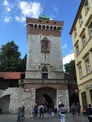 Cracow 25 (greger.ravik) Tags: polen polen2016 poland polska krakow cracow cracovia stad city capitol world heritage old town vrldsarv wall stadsmur torn tower ingng
