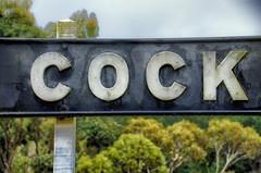 More (Rantz) Tags: australia cockatoo derek melbourne puffingbilly rantz sign signs trackpatrol victoria