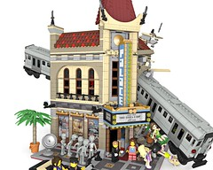 Lego 10232 Palace Cinema (martin.waterson) Tags: lego modular palace cinema moc surreal 10232 lego10232 ldraw palacecinema