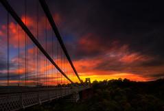 Bristol (ednortonphotography) Tags: clifton bristol cliftonsuspensionbridge bridge suspensionbridge uk england sunrise structure sunset landscape cityscape travel