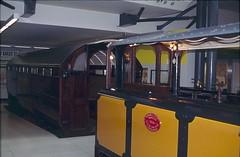 Early London Underground Train (The Old Pharaoh) Tags: london england unitedkingdom greatbritain train museum underground undergroundtrain transportmuseum film transparency reversalfilm slide scan analogue analoguephotography