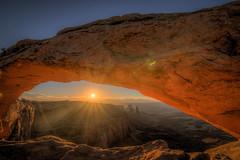 The Mesa Glow (JeffMoreau) Tags: mesa arch canyonlands national park utah moab sunrise landscape arches morning dawn glow
