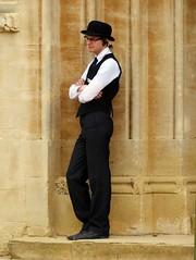 Oxford, Oxfordshire (Oxfordshire Churches) Tags: oxford oxfordshire panasonic lumixgh3 england uk unitedkingdom johnward christchurch university colleges oxforduniversity universityofoxford bulldogs securityguards collegesecurityguards collegebulldogs bowlerhats
