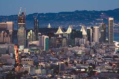 Downtown (Matt McLean) Tags: bayarea california city cityscape dusk landscape sanfrancisco sf unitedstates us pentaxk70
