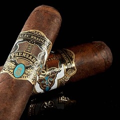 The cigar of the day the #AlecBradley #Prensado #cigarsnob #cigarsmoker #nowsmoking #cigarlifestyle #cigarlover #cigars #cigarart #cigaraficionado #cigarporn #cigarlifestyle #photooftheday #cigarphotography Thecigarphotographer.com (thecigarphotographer) Tags: ifttt instagram cigars
