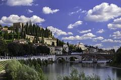 Ponte Pietra (robbar74) Tags: pontepietra adige ponteromano verona veneto italia fiume collinadicastelsanpietro