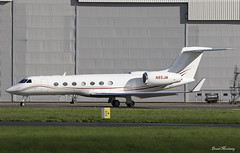 Cook Canyon LLC. G550 N85JM (birrlad) Tags: shannon snn international airport ireland aircraft aviation airplane airplanes bizjet private passenger jet taxi taxiway takeoff departing departure runway gulfstream aerospace cook canyon llc g550 n85jm gvsp glf5