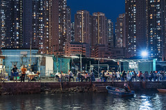 Ma Wan Chung  (mikemikecat) Tags:   yattungestate tungchungbay  sonya7r a7r nostalgia mikemikecat sony stacked building colorful blue       twilight dusk  magicmoment magicblue bluesky bluehour nightscape urban  hdr ngongpingcablecar clouds  village vintage people restaurant   mawanchung