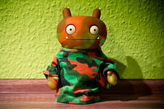 Uglyworld #1730 - Bringerings It - (Project TW - Image 308-366) (www.bazpics.com) Tags: 3 game face modern project fun soldier war call paint play duty saturday xbox 360 it camo online uglydoll camoflage console bring 2012 uglydolls wage warfare 366 barryoneilphotography