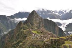 Machu Picchu (RichardJames1990) Tags: city mountain green machu picchu misty landscape lost photography james view cloudy postcard cusco rich steps terraces leeds pichu hut richard macchu incas horizone waina challengegamewinner