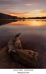 loch Ard morning (Surajit..) Tags: water colors sunrise scotland lochard kinochard