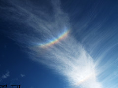 Rainbow Colors in the Sky - Circumzenithal arc (CZA) (Batikart ... handicapped ... sorry for no comments) Tags: blue autumn light sky cloud white color colour nature colors sunshine weather clouds canon germany landscape geotagged outdoors deutschland rainbow europa europe day natural herbst natur himmel tranquility halo formation shape ursula landschaft sundog cloudscape regenbogen 2012 cirrus sander phenomenon sonnenschein g11 fellbach badenwrttemberg swabian cza onmywaytowork phnomen rainbowcolours 100faves zirkumzenitalbogen regenbogenfarben circumzenitharc viewonblack batikart cirrusvertebratus haloerscheinung wolkenlandschaft canonpowershotg11 haloerscheinungen