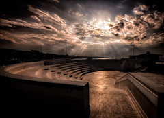 * (dtsortanidis) Tags: sky sun sepia clouds canon photography theater fisheye greece dimitris patras patra dimitrios  815mm tsortanidis  dtsortanidis