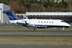 Private N794RC (Drewski2112) Tags: seattle county field airport king international boeing 300 challenger bombardier bfi kbfi cl30 n794rc