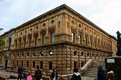 Palace of Charles V / Palacio de Carlos V, La Alhambra (Trevor.Huxham) Tags: granada andalucia spain canonefs1855mmf3556is alhambra worldheritagesite canoneosrebelxs