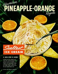 1960 Pineapple Orange Sealtest Ice Cream (1950sUnlimited) Tags: food design desserts icecream 1950s packaging snacks 1960s dairy midcentury snackfood sealtest