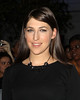 Mayim Bialik at the premiere of 'The Twilight Saga: Breaking Dawn - Part 2' at Nokia Theatre L.A. Live. Los Angeles, California