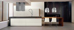 . K cuin.  04. gloss white lacuqered + teak. porphyry top (alexander _ mk) Tags: