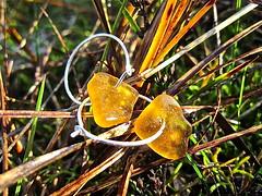 Havsglas Sverige 027 (Havsglas Sverige) Tags: sea earrings strandglas seglass havsglas